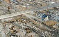 Destruction of a hurricane