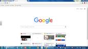 Click on Google