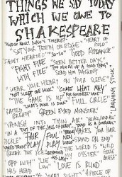 Square #5: Things We've Learned From Shakespeare