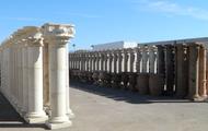 Cantera Tuscan column