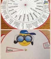 Literacy Wheel
