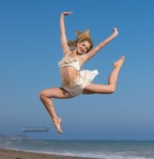 Chloe Lukasiak- she was born on the same day as me.