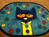 Pete the Cat rug