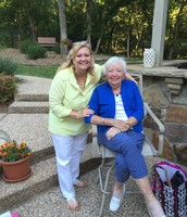 My mom and me celebrating her 80th birthday!