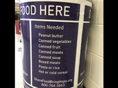 for the Food Bank of Central, MO!