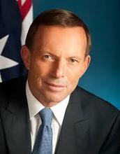 Who is Tony Abbotts party?