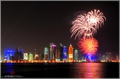 Fireworks End the Celebration