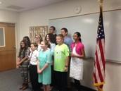 Diez Estudiantes Participaron