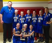 6th Grade Girls Immanuel Lutheran Tourney Champions