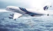 Blue A380