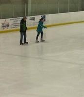 patine en el helado