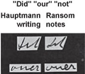 Hauptmann vs Ransom Note