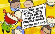 April's Memory Verse: Proverbs 17:17