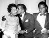 Sammy Davis Jr. and parents
