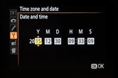 Change date/ time