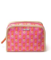 Beauty Bag in Hot Pink Pineapples