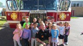 Firefighters Teach South Students Safety Lessons