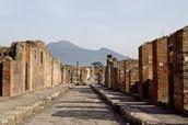 The life in pompeii