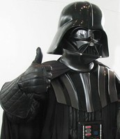 Darth Vader Giving a Thumbs Up because your T-Shirt is awesome!