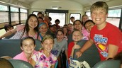 4th Graders Loaded onto buses for our Alamo Field Trip!
