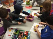 Working with pattern blocks!