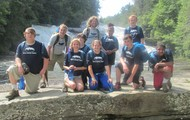 Summer Group at DuPont State Forest
