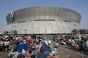 The Super Dome.