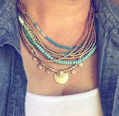 ISA DISK NECKLACE $59.00