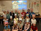 Kinder celebrates 50 days of school!