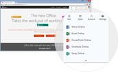 New Chrome Office 365 extension!