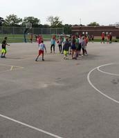7th grade 4 square at recess