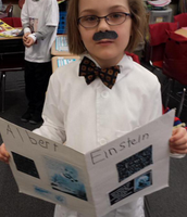 2nd Graders put on the Living Museum