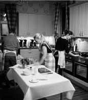 Skräddarsydda företagsevent, matlagning sessioner, mm