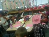 Mrs. Bierman's students celebrate Howdy Day!