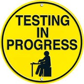 STANDARDIZED TESTING continues second week, February 16--19