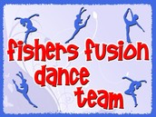 The Fishers Fusion Dance Team Winter Clinic.