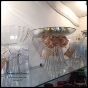 Upcycled Glass Tableware