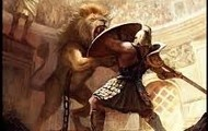 Lion vs. Gladiator