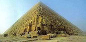 Why did the Egyptians make the pyramids?