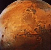 This is a photo from mariner 4