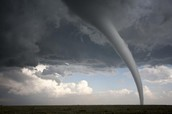 Tornadoes formed by-      Where Tornadoes are formed-