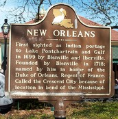 Brief Summary of History of New Orleans