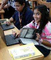 Chromebooks & Samsung Tablets at O'Grady Elementary School, too!