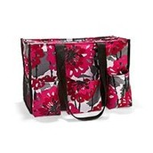 Zip-top Organizing Utility Tote - Bold Bloom (Retired print) $20