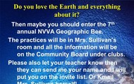 What is the GeoBee?