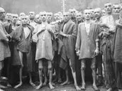 Jews in a Nazi camp