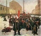 The Ninth of january-  Vladimir Makovsky