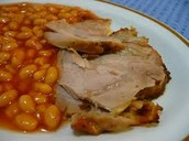 Turkey with beans