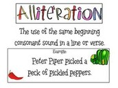 WHAT IS ALLITERATION?
