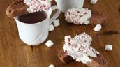 Peppermint Hot Chocolate Biscotti